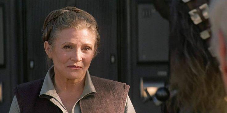 Todd Fisher, hermano de Carrie Fisher, dice que la actriz fallecida aparecerá en Star Wars: Episodio IX.  - http://j.mp/2oiNvTG