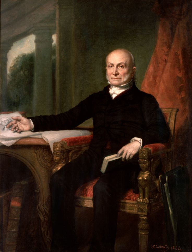 John Quincy Adams, son of John and Abigail Adams, served as the sixth President of the United States from 1825 to 1829. A member of multiple political parties over the years, he also served as a diplomat, a Senator, and a member of the House of Representatives. Learn more: http://go.wh.gov/hiHBWs
