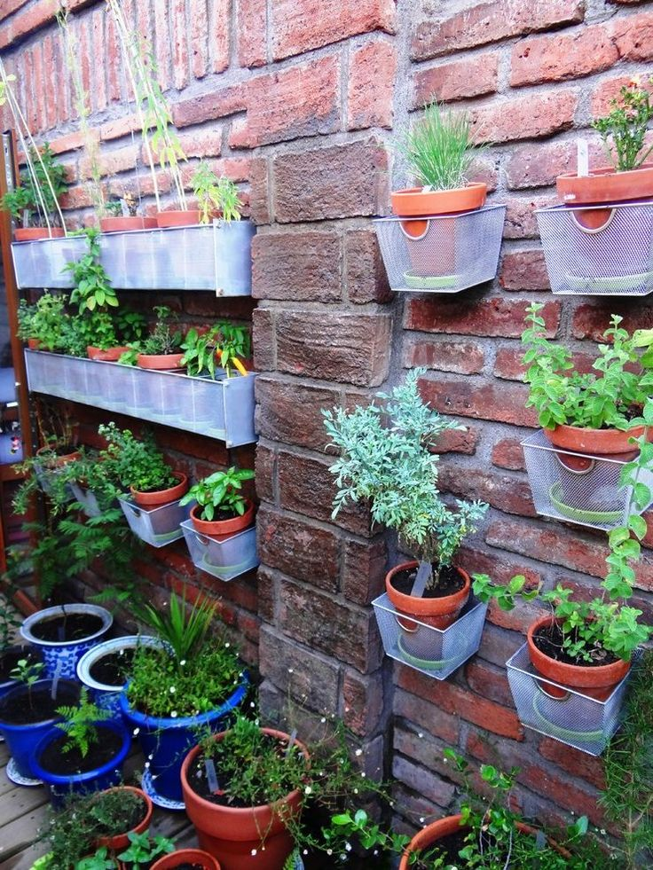 Best 25 outdoor pots and planters ideas on pinterest for Hanging vegetable garden ideas