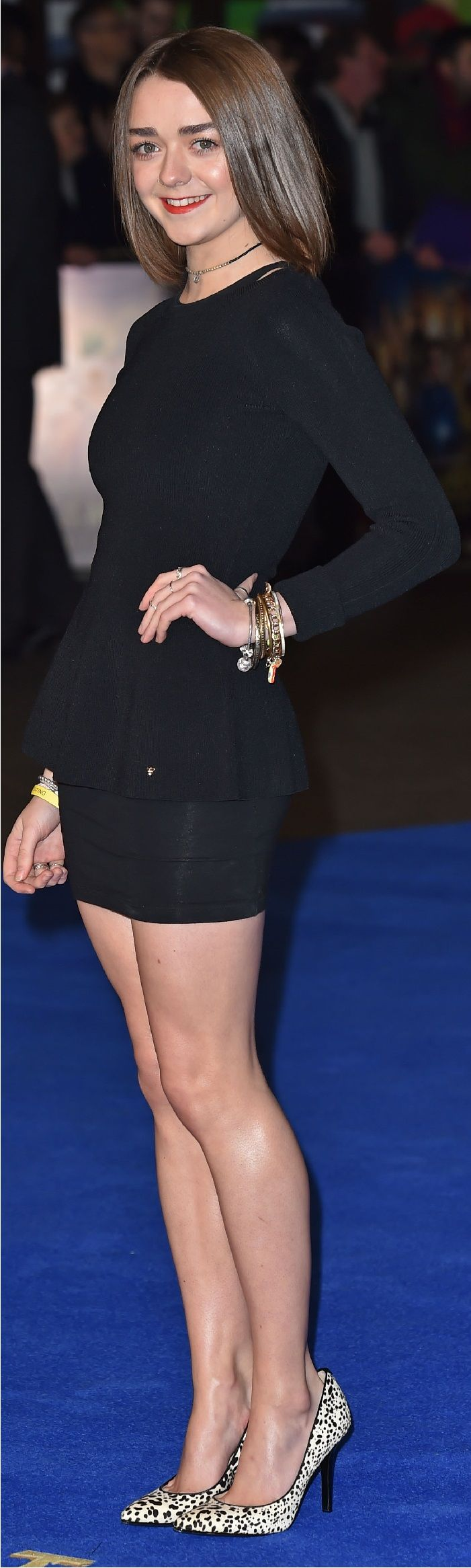 Maisie Williams has an incredible figure
