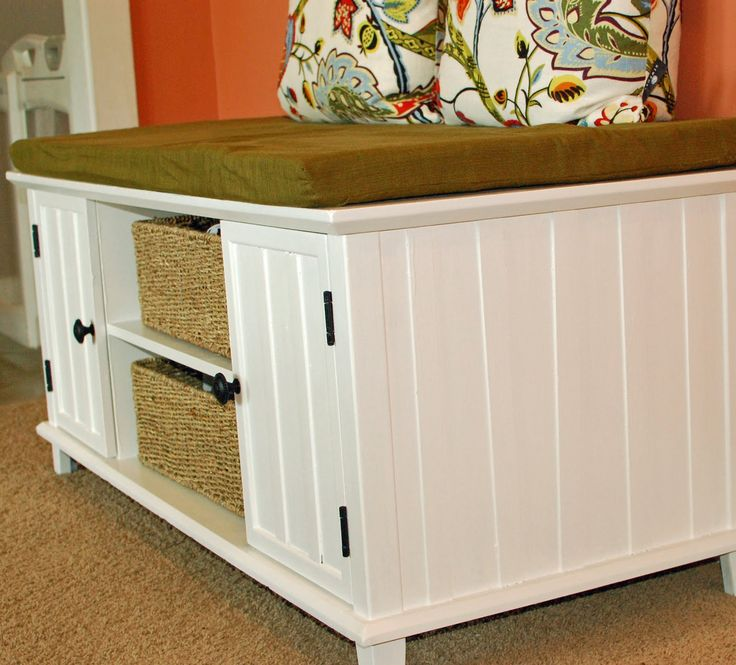 Entertainment Center Transformed Into A Bench; Guest. Rearranging FurnitureOld  Entertainment ...