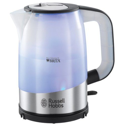 Get cleaner, clearer and great tasting water using the Russell Hobbs 18554 Brita Filter Kettle http://kitchentechzone.com/russell-hobbs-18554-brita-filter-kettle-review/