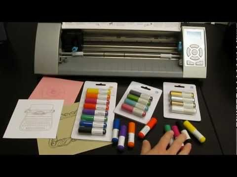 This video talks about Silhouette's sketch pens. They come in regular, metallic, or glitter. To buy the sketch pens click on the following link: http://silhouetteamerica.com/sketchPens.aspx