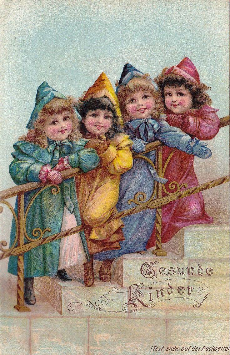Pin de nita ramirez mateos en post card pinterest - Ilustraciones infantiles antiguas ...
