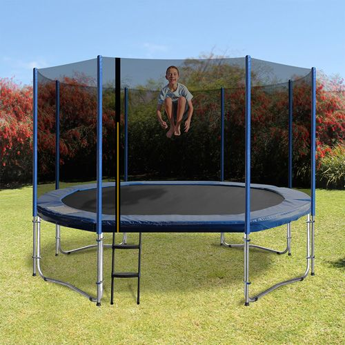 The 'Oval Shaped trampoline', has been cleverly designed to maximise your jumping area whilst saving you precious backyard space.  Innovatively designed with rounded edges and a streamline shape, this new shape provides a superior bounce by activating every spring and gives a greater performance than the rectangle trampoline with the safety of a round.