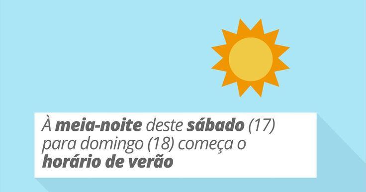 Horário de verão começa domingo; veja 5 efeitos curiosos na sua vida
