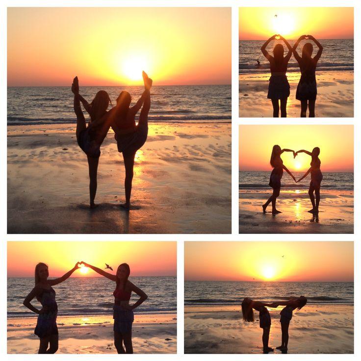 Bestfriend sunset beach pictures......