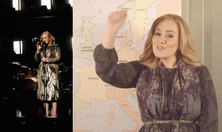 Adele is returning the the U.S. for her first North American tour in five years -- and we're all rejoicing.