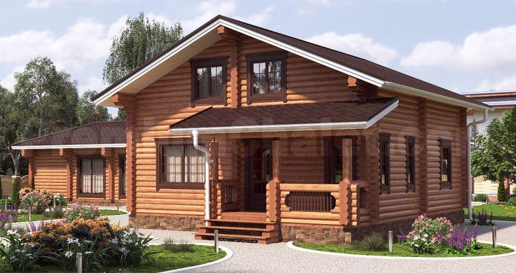 Проект деревянного дома — Юрмала — ЮР-163
