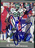 Al Toon New York Jets Footballs