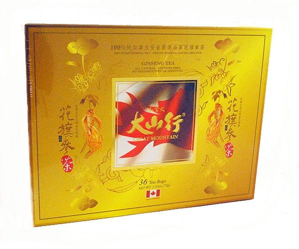 GM Canada Ginseng Tea 36bags if you want to cleanse your mind, body and soul. give this a try. taste better with a little honey.