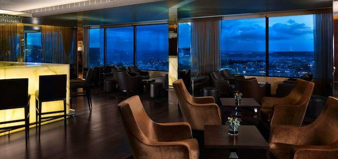 Panorama Bar, Hotel Sheraton, Lisboa