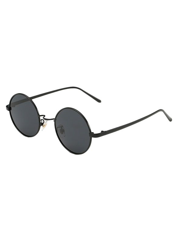 Vintage Metal Round Sunglasses #men, #hats, #watches, #belts, #fashion