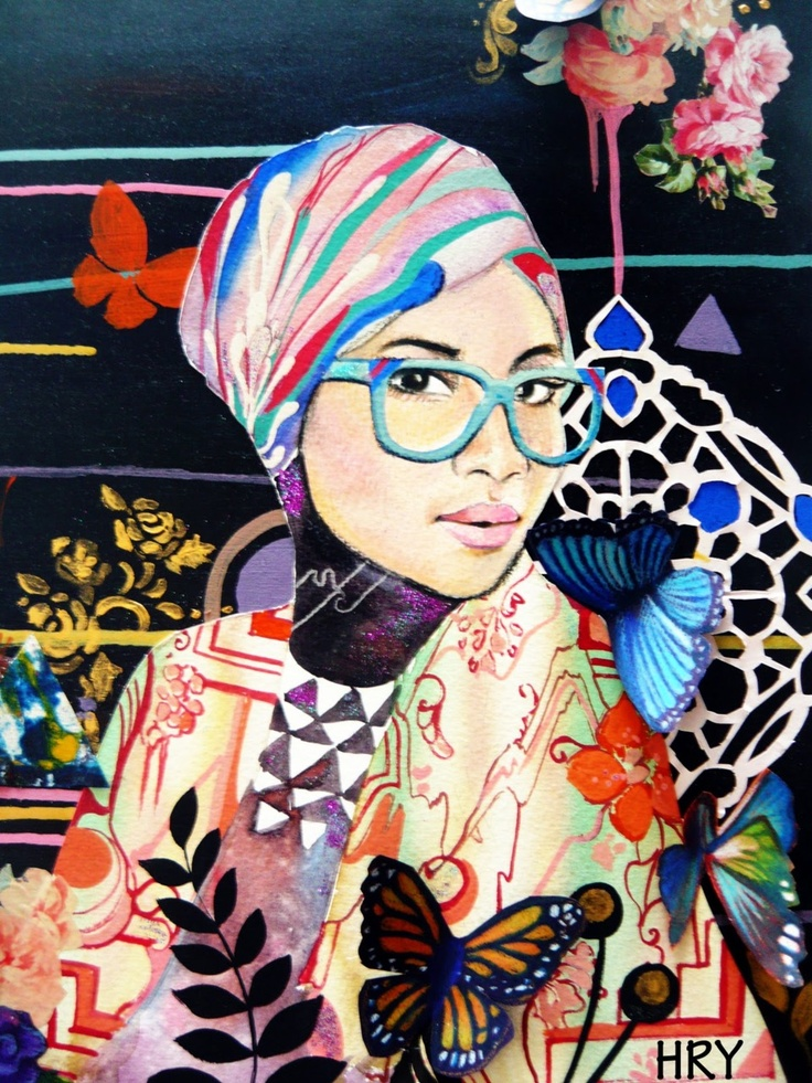 hijab illustration