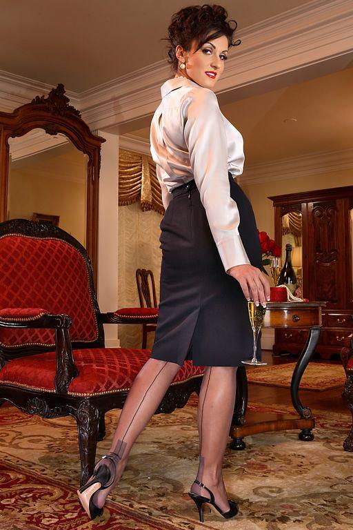 Elegance Euro Heel Grey | I Love Secrets in Lace | Satin ...