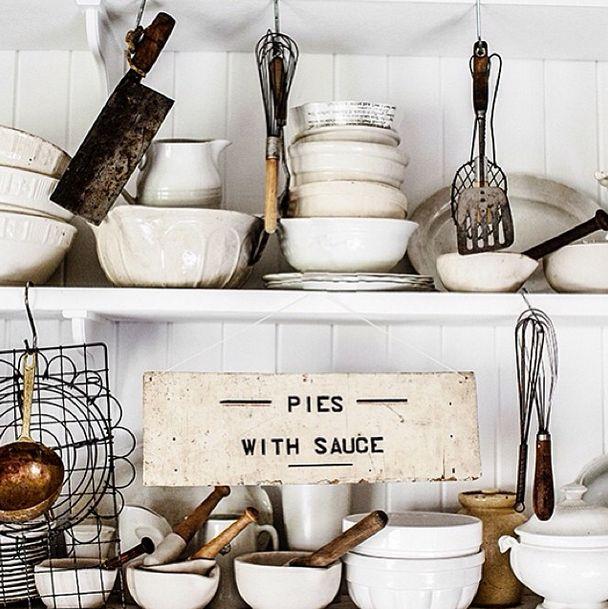 25 beste idee n over brocante keuken op pinterest brocante keukenkasten franse - Stijl land keuken chique ...