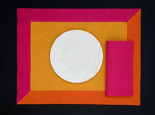 AMERICANE 3T - Mango amber hot pink
