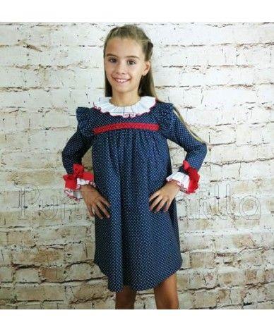 3d878405d Vestido para niñas desde 3 años hasta 10 años. Vestido en color ...