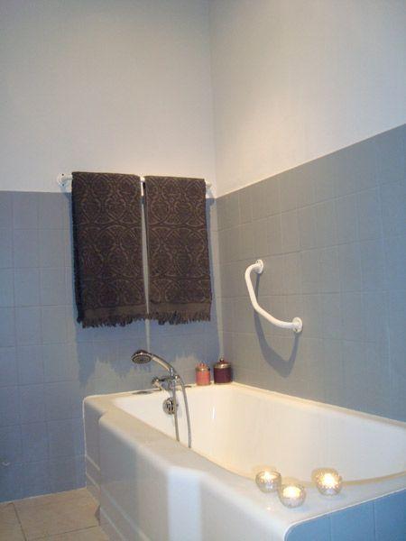 85 best Deco Sdb images on Pinterest Bathroom, Bathroom ideas and - peindre avant de tapisser