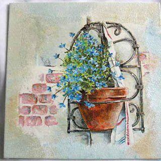 #Tablou pe #pânză - #Ghiveci #flori în suport de #fier #forjat cu #fundal de #clădire de #cărămidă / #Canvas #painting - #Flower #pot in #forged #iron support with #brick #building #background / #캔버스 #페인팅 - #벽돌 #건물 #배경과 #위조 철 #지원에서 #꽃 #냄비. https://handmade.luxdesign28.ro/produs/ghiveci-flori-in-suport-de-fier-forjat-cu-fundal-de-cladire-de-caramida-28848/