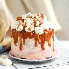 bulutağacı: Karamelli Çikolata Kremalı Muzlu Pasta
