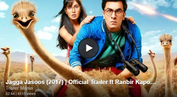 Jagga Jasoos (2017) Official Trailer - Social Dunya News