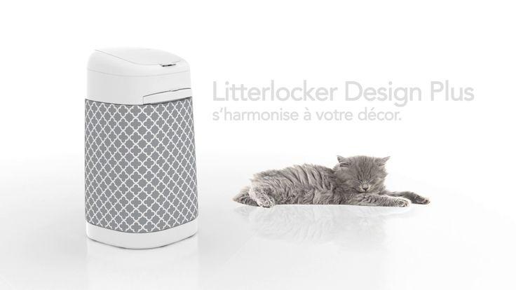 Poubelle LitterLocker Design Plus (version longue)