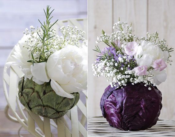 A rugós frühlingsblumen_coole-Tischdeko-with-zöldség-és virág-in-tavaszi