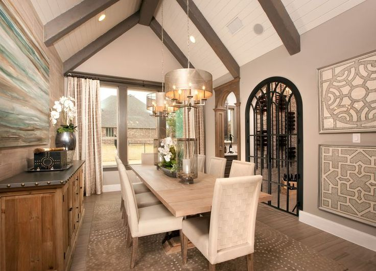 A Wine Cellar Connected To The Formal Dining Room Makes For Effortless  Entertaining And Adds A
