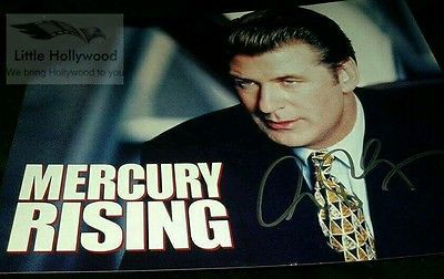 ALEC-BALDWIN-Mercury-Rising-8x10-Autographed-RP-lustre-Photo