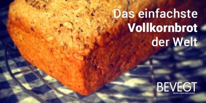 Jeder kann Brot backen - vorausgesetzt das Rezept stimmt. Dieses Vollkornbrot-Rezept ist idiotensicher und lässt trotzdem Raum für Kreativität!