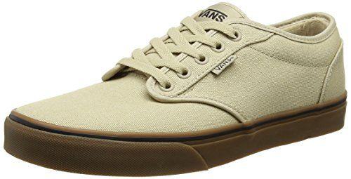 Vans Atwood, Herren Sneakers, Beige (12 Oz Canvas/khaki/gum), 42.5 EU - http://on-line-kaufen.de/vans/42-5-eu-vans-herren-atwood-sneaker
