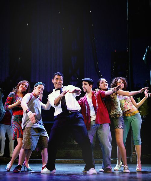 Once we get goin' we're never gonna stop! (In The Heights)