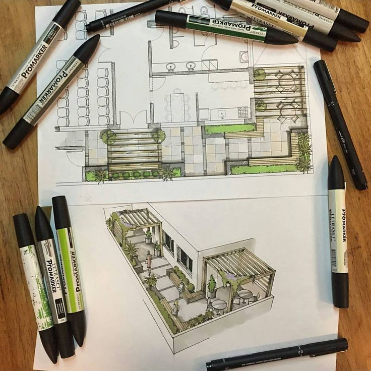 Best Hand Rendering Images On Pinterest Architecture