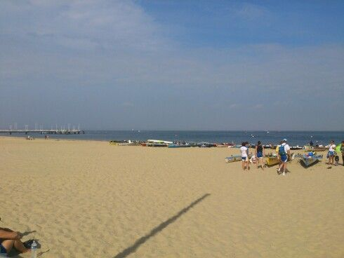 Sandy beaches of Arcachon