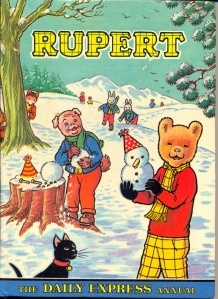 Rupert the Bear annual (published in 1974)- loved Rupert books as a child, especially when I was sick, they made me feel better