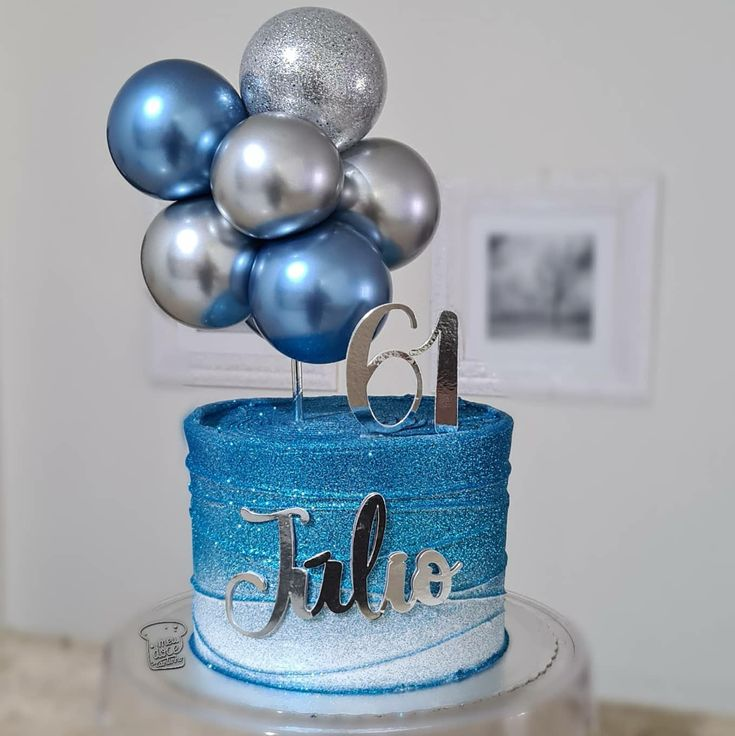 Balloon Cake, Its My Bday, Cool Birthday Cakes, Cake Designs, Cake Toppers, Cupcake Cakes, Balloons, Sweets, Desserts