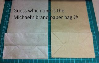 Michael's Paper Bag WITHOUT die or punch!