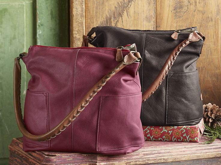 Simplicity Slouch Bag - Italian-leather slouch bag.