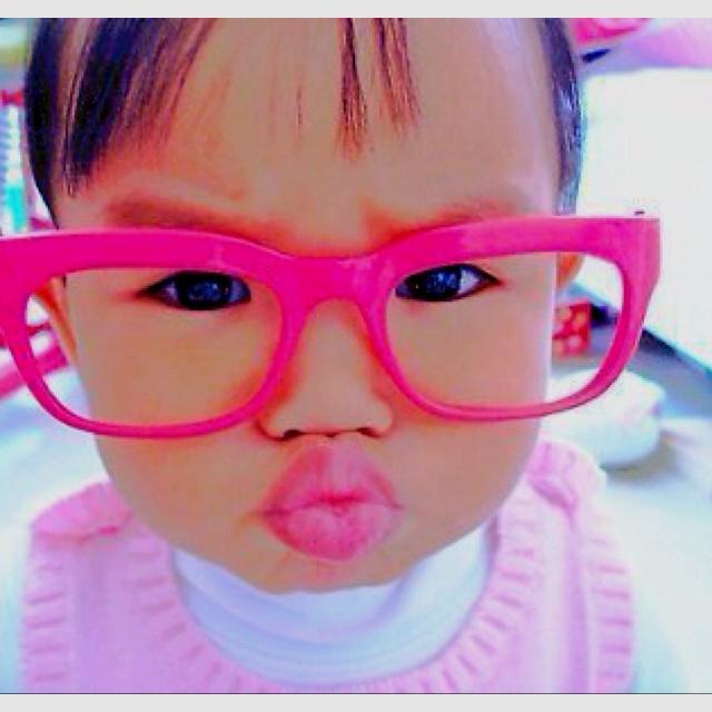Pucker Up: Face, Babies, Swag, Girl, Adorable, Pink, Box, Kids