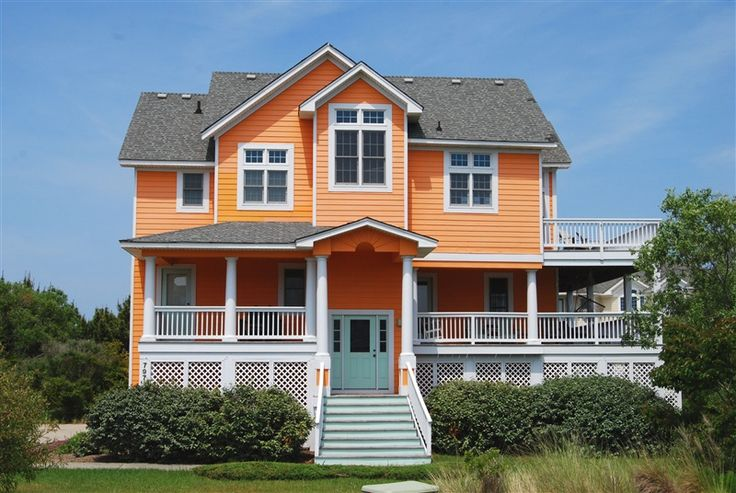 Tangerine dream rental home north carolina.