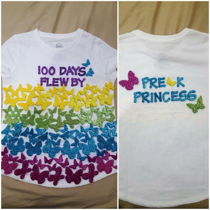 100 Days Of School Tshirt Foamies Purchased At Hobby Lobby I Like