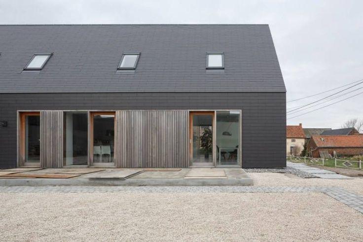 Een hellend dak volgens de regels van de kunst