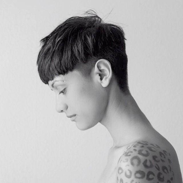 short hair bowl #shorthairedgy