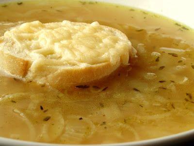 Radość gotowania: Zupa cebulowa z grzanką
