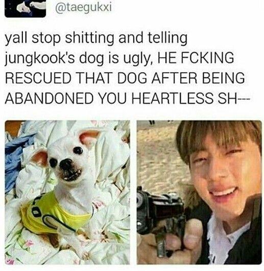 Jungkook even has a golden heart