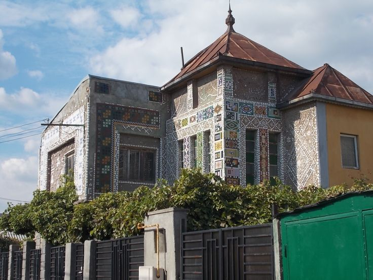 Casa cu Scoici, Intrarea Câmpinei (zona Anda/Km 4-5), Constanța Foto: Yigru Zeltil