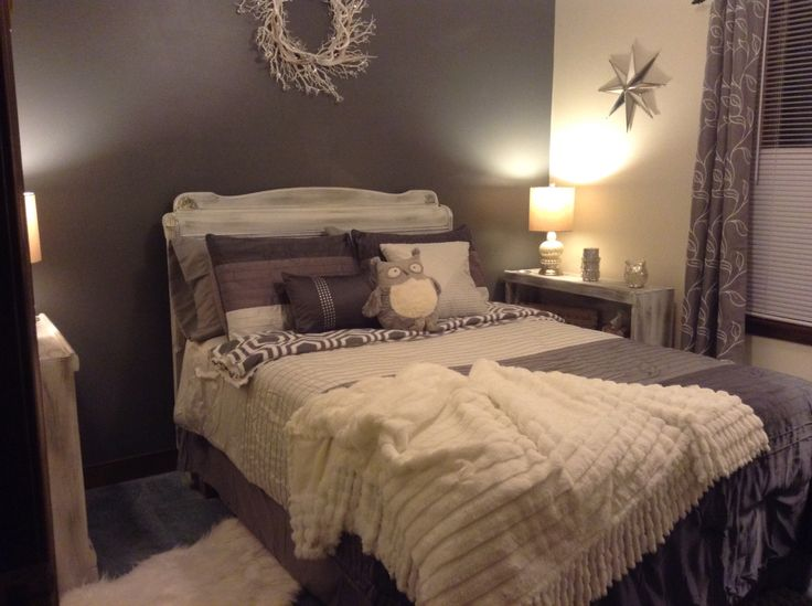 17 Best Images About Guest Bedroom Rustic Glam On Pinterest Grey Walls T
