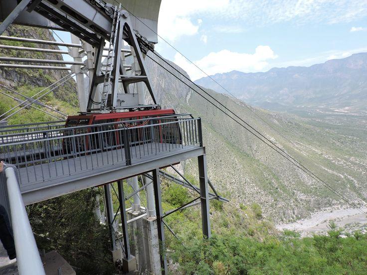 Photo - Google+Cable Car to Grutas de García, Nuevo León, México.