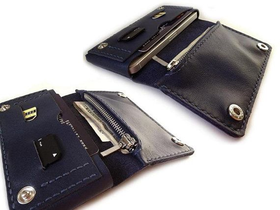 Leather iPhone Wallet for any iPhone or Samsung от LeatherPurses, $39.00